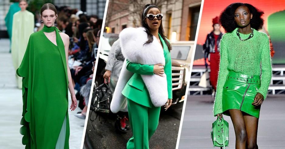 To 'Kermit Green' είναι το χρώμα που δε μπορείς να αγνοήσεις το 2018