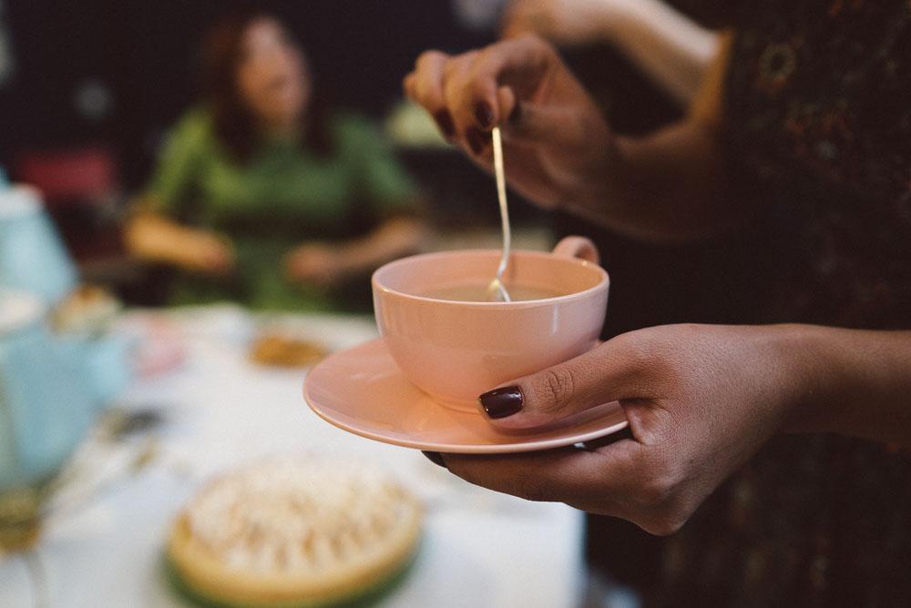 Ποιος ειπε οτι τα tea party ειναι μονο στην Αγγλια;