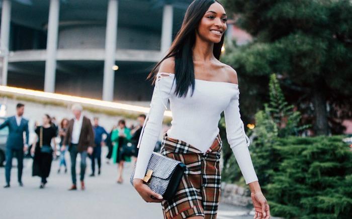 Η Jourdan Dunn δειχνει πως να ντυθεις σαν μοντελο