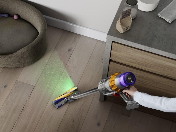 Dyson V15 Detect Absolute Η πρώτη ηλεκτρική σκούπα που ανιχνεύει τη σκόνη