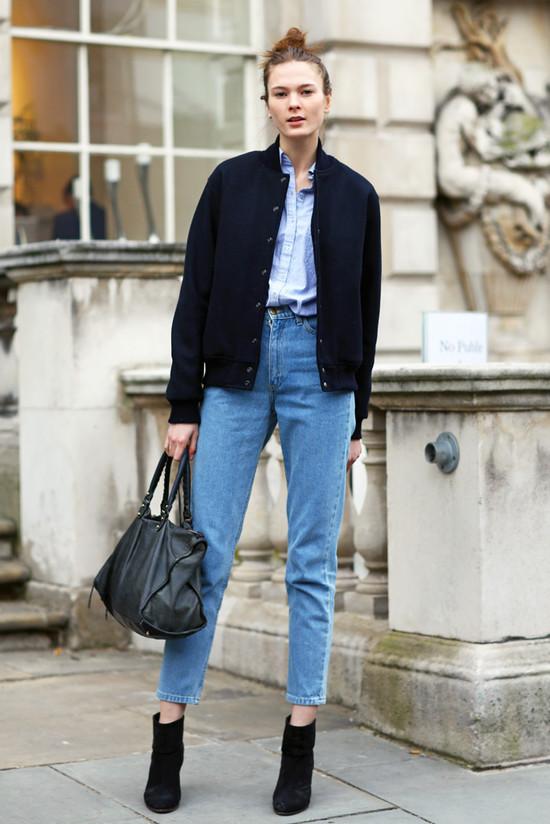 Πως να φορεσεις το ψηλομεσο jeans σου