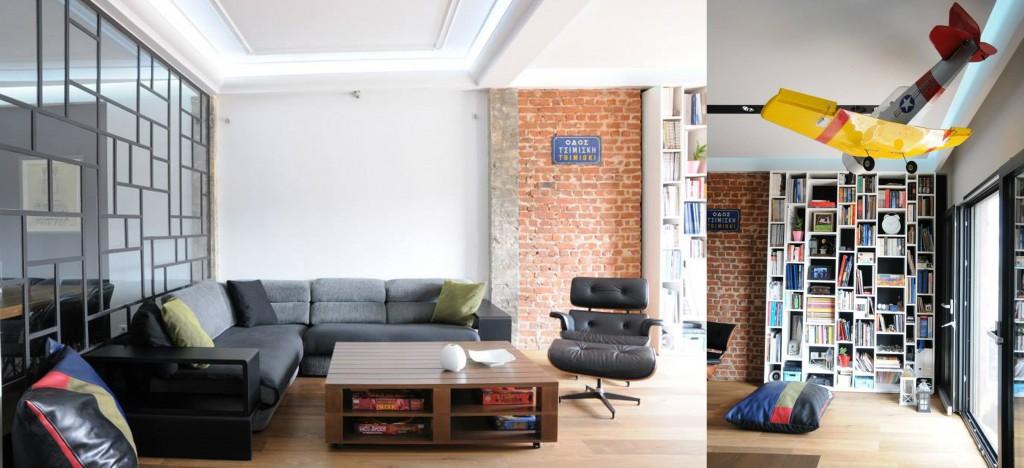 120 m2  in Thessaloniki | Urban soul Project
