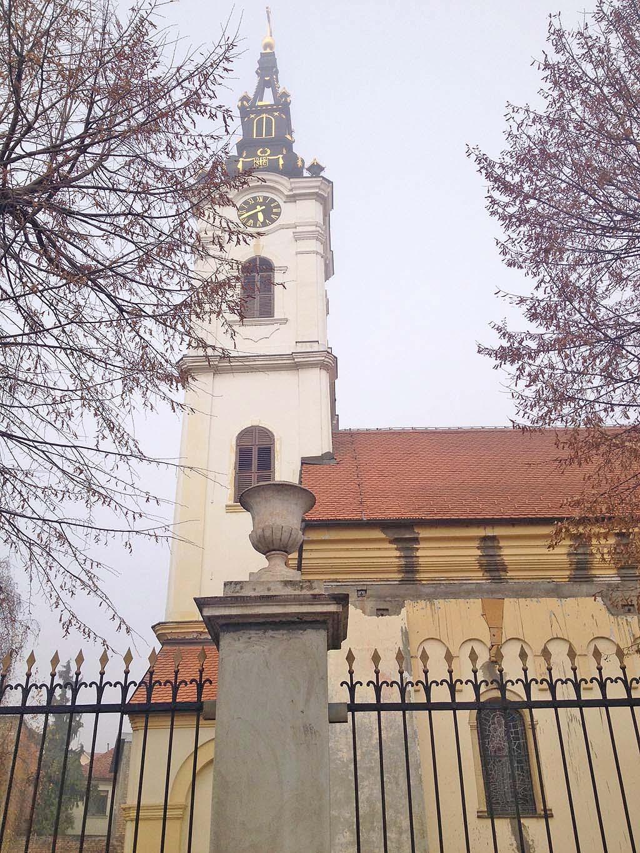Zemun church
