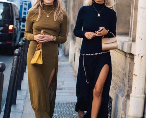 4 εύκολοι τρόποι να φορέσεις το πλεκτό φόρεμά σου