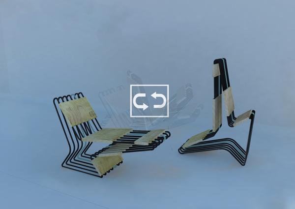 Parallel Lines / Armchair: https://www.behance.net/gallery/16024021/Parellel-Lines-armchair-chair