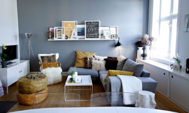 5 ιδέες για να φαίνεται μεγαλύτερο το μικρό σαλόνι σου