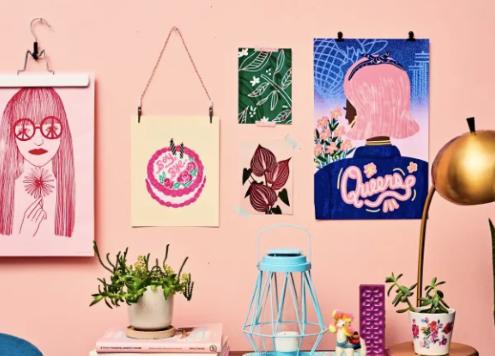 5 τρόποι να κρεμάσεις posters χωρίς κορνίζα μέσα σε λίγα λεπτά