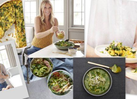 5 εύκολες και υγιεινές συνταγές από το νέο της βιβλίο της Gwyneth Paltrow