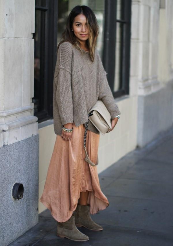 Πώς να φορέσεις το maxi φόρεμα μέσα στο χειμώνα
