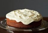 Κέικ με πορτοκάλι και cream cheese