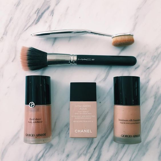 Makeup for starters: Πινέλα foundation