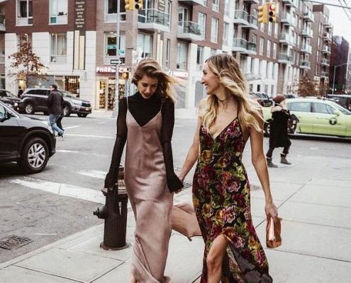 4 τρόποι να φορέσεις τα φορέματα σου μέσα στον χειμώνα -velvet-slip-dress-slip-dresses