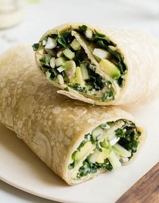 Kale Mustard Wrap
