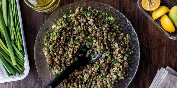 Μεσογειακή σαλάτα με φάκες