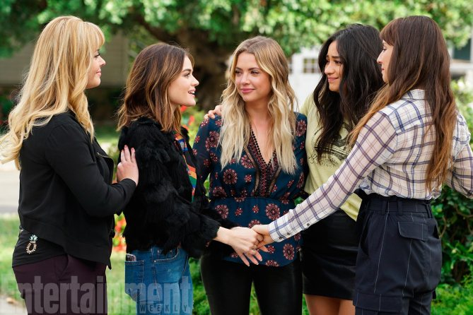 PRETTY LITTLE LIARS  pic: Entertainment Weekly
