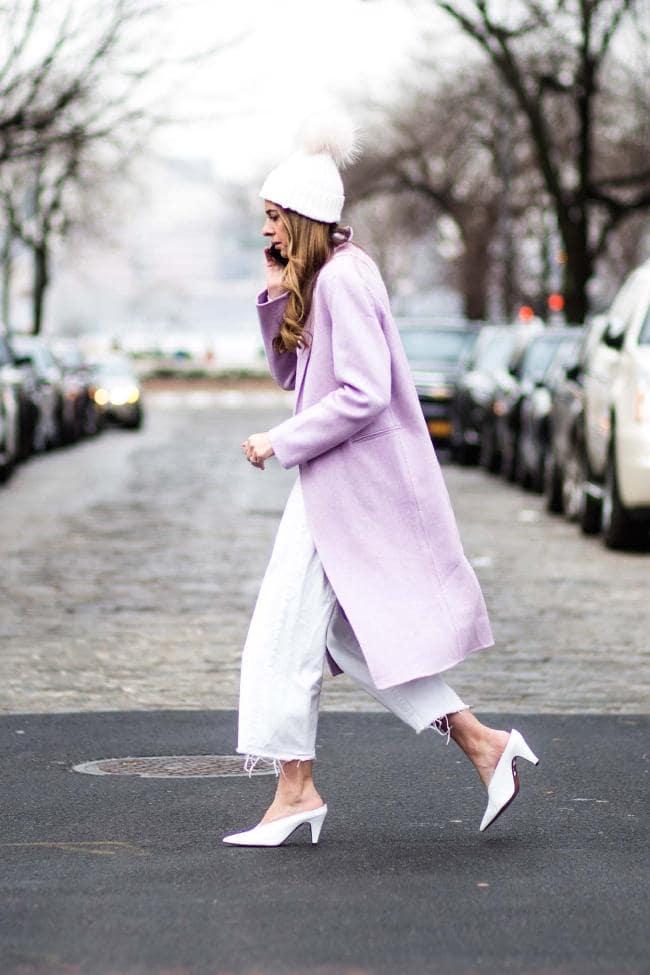 Πως θα φορέσουμε το λιλά φέτος τον χειμώνα