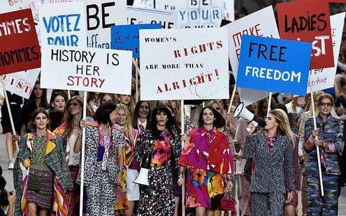 8 φορές που το runway χρησιμοποιήθηκε ο ως ιδανικό χώρος διαμαρτυρίας