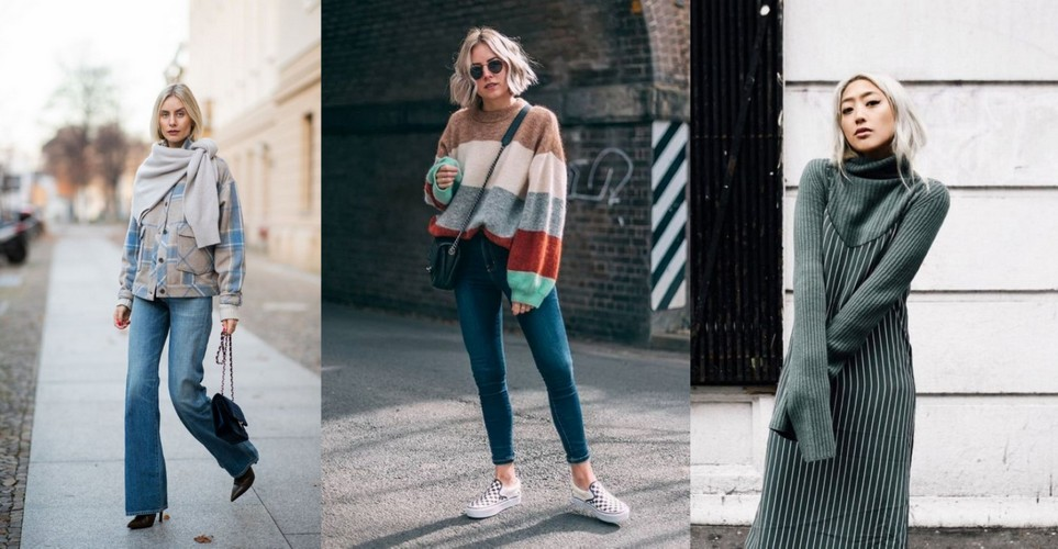 ba2c55058e84 8 updated τρόποι να φορέσεις το πουλόβερ φέτος τον χειμώνα - Savoir ...