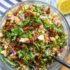 Μεσογειακή σαλάτα με ρεβίθια και κινόα