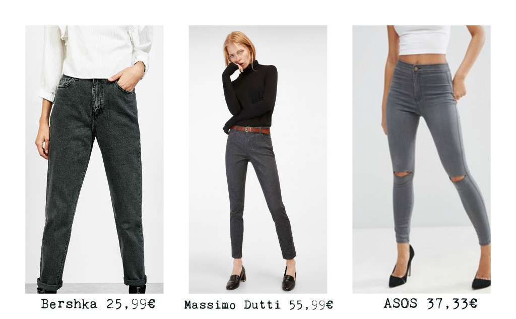 Winter Trend: Grey Jeans