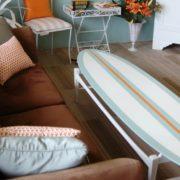 4 τρόποι να εντάξεις τα surfboards στη διακόσμηση του σπιτιού σου