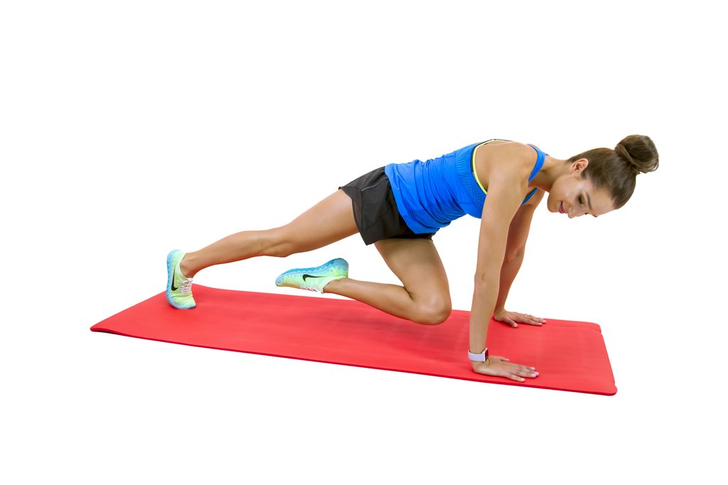 bend-your-left-knee-bring-your-chest-toward-your