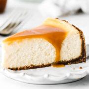 Cheesecake με αλατισμένη καραμέλα