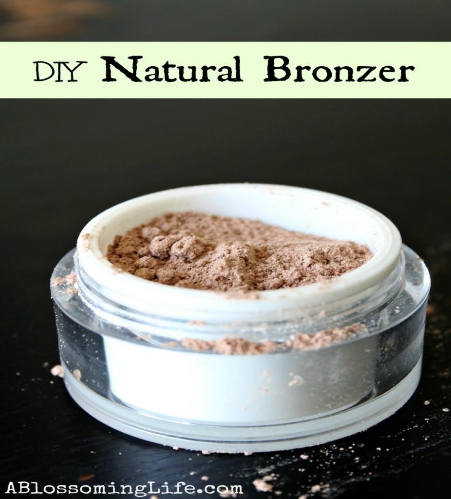 DIY NATURAN BRONZER