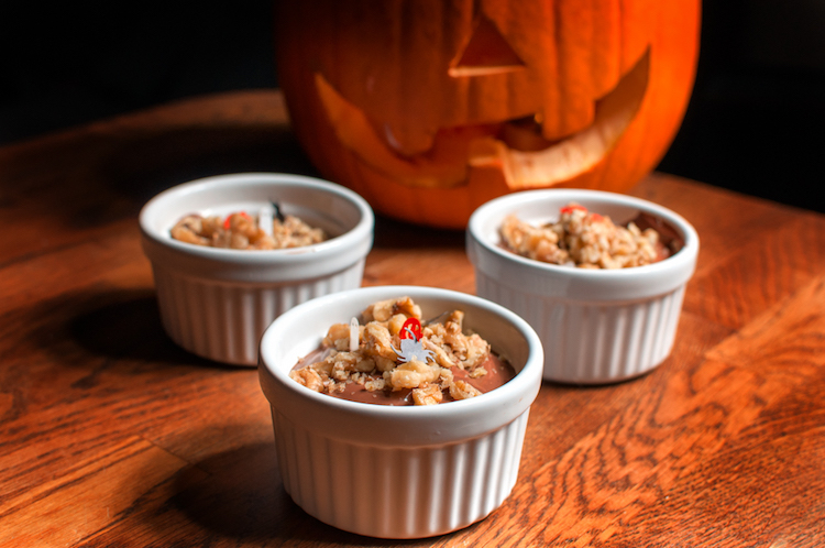 Pumpkin Chocolate Mousse