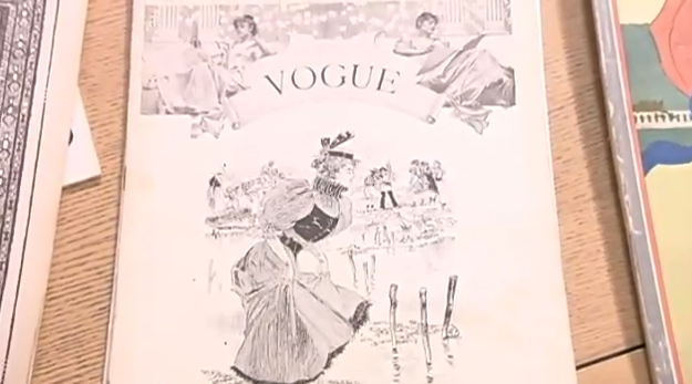 December 1892 First Vogue Cover