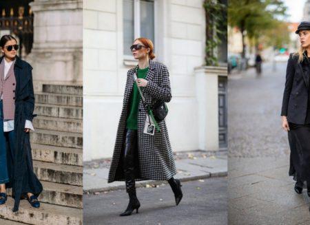 Street style προτάσεις για τις κρύες μέρες που έχεις να πας γραφείο