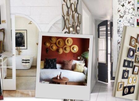 11 διαφορετικοί τρόποι να διακοσμήσεις έναν κατά τα άλλα βαρετό τοίχο