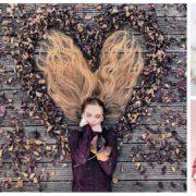 Πάρε έμπνευση από τη φανταστική Krissy Elisabeth και ανέδειξε τα μακριά μαλλιά σου