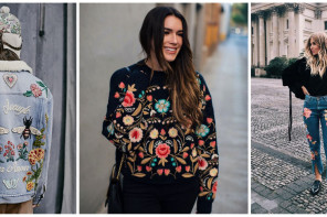 Το embroidery ως fashion trend
