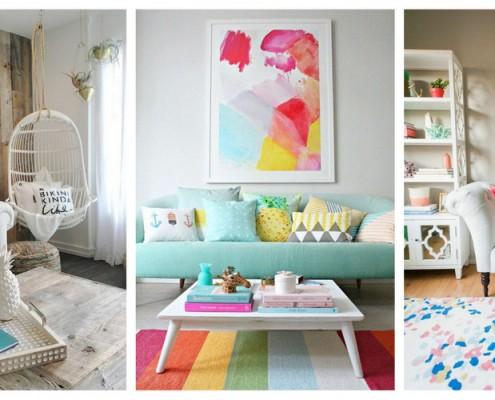 Ιδέες διακόσμησης για να φέρεις το καλοκαίρι στο σαλόνι σου!