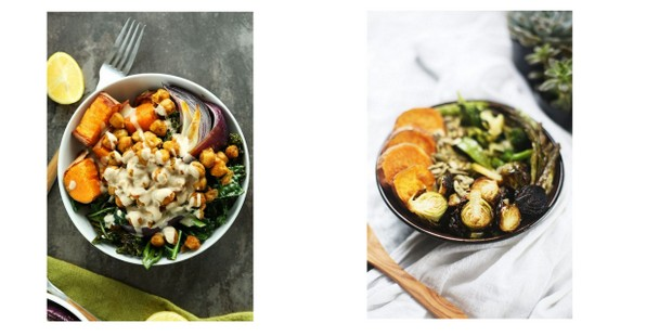 Buddha bowls: 2 συνταγές με το πολύχρωμo trend της υγιεινής διατροφής