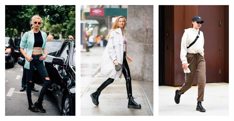 Οι '90s μπότες που αγαπούν τα μοντέλα τα τελευταία δύο χρόνια