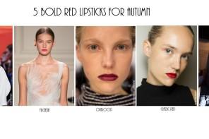 Τα 5 κοκκινα καλοκαιρινα κραγιον που θα φορεσεις και το φθινοπωρο