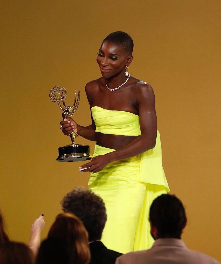 Emmys 2021 Η Michaela Coel αφιέρωσε τo βραβείο στους επιζώντες σεξουαλικών επιθέσεων