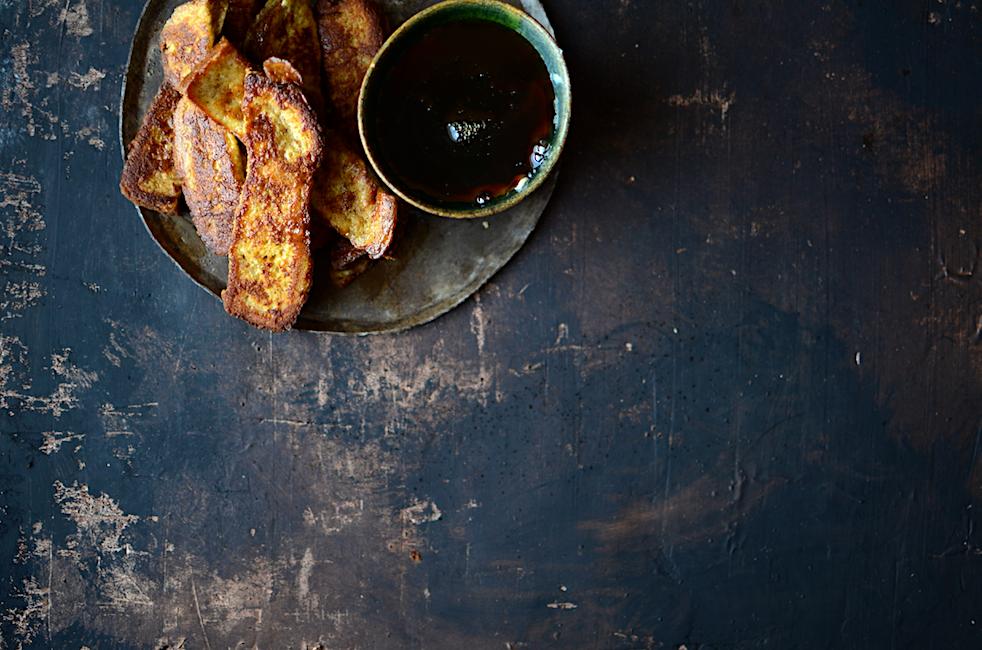 French toast σε sticks γιατί το πρωινό έχει το δικό του finger food