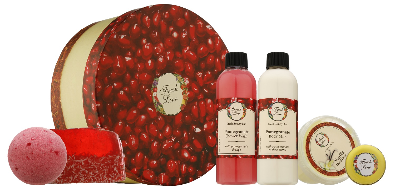 Fresh Line- Pomegranate Cheesecake Set