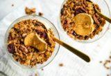 Granola με μήλα, pecan και quinoa