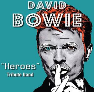 H Heroes Tribute Band θα μας θυμίσει γιατί θα αγαπάμε πάντα τον David Bowie