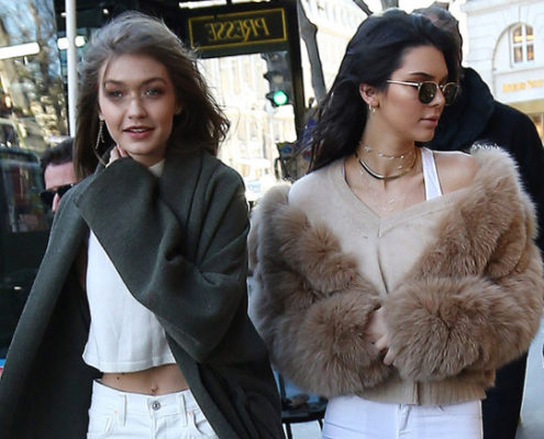 H Kendall Jenner και η Gigi Hadid δείχνουν το must have αξεσουάρ της άνοιξης