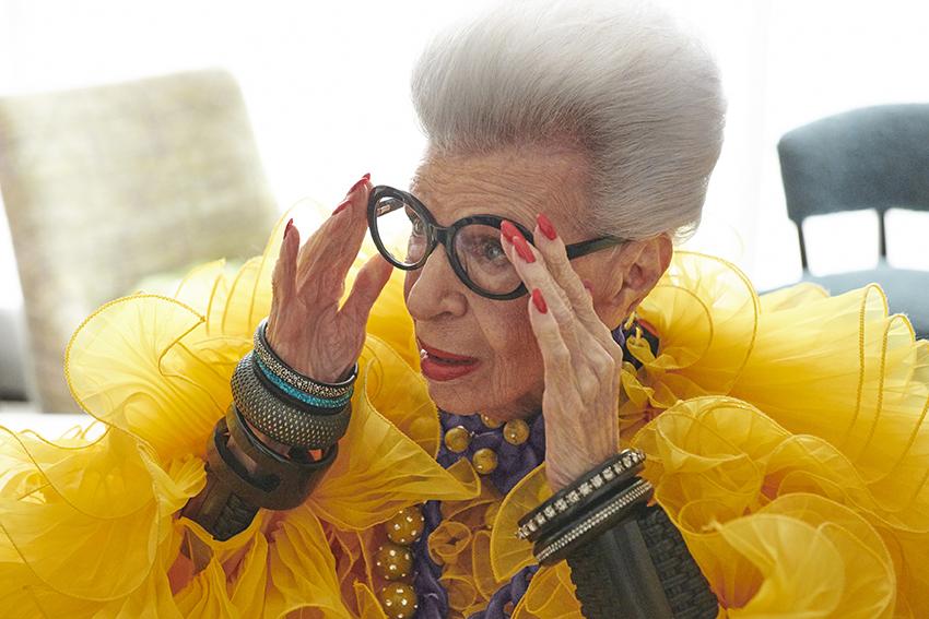 H&M η συνεργασία με το fashion icon Iris Apfel για τα 100α γενέθλιά της1