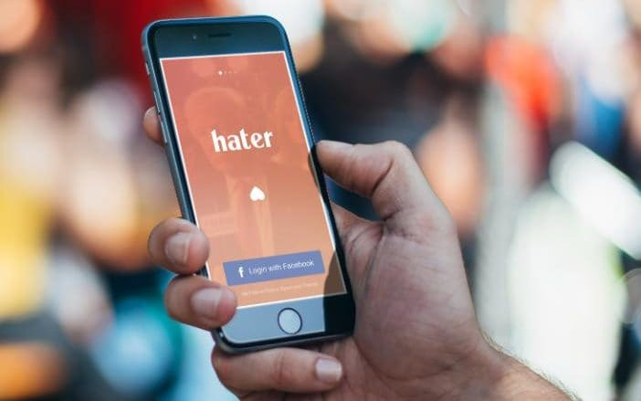 Το 'Hater' ειναι το καινουργιο app που σε συνδεει με βασει ολα αυτα που μισεις