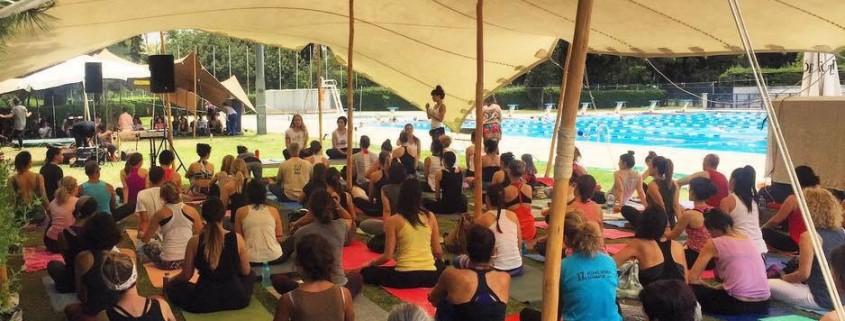 Στο 3rd Yoga Spring Fair απολαύσαμε τη στιγμή