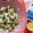 Ψητά λαχανάκια Βρυξελλών με λεμόνι και φέτα