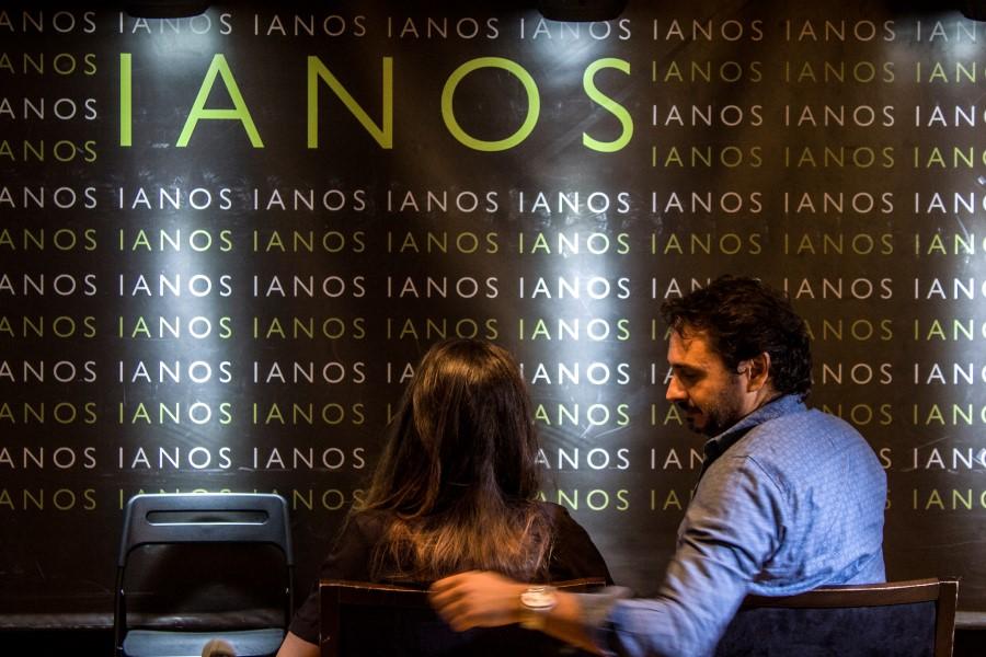 Δημήτρης (Δημοσθένης Φίλιππας) και Λήδα (Ράσμι Σούκουλη) στο σινεμά