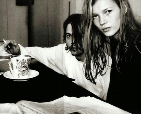 Kate Moss & Johnny Depp το στυλ του πιο cool ζευγαριού των 90s μέσα από δέκα φωτογραφίες